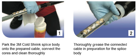 3m cold shrink termination instructions