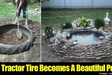 tractor tire pond instructions