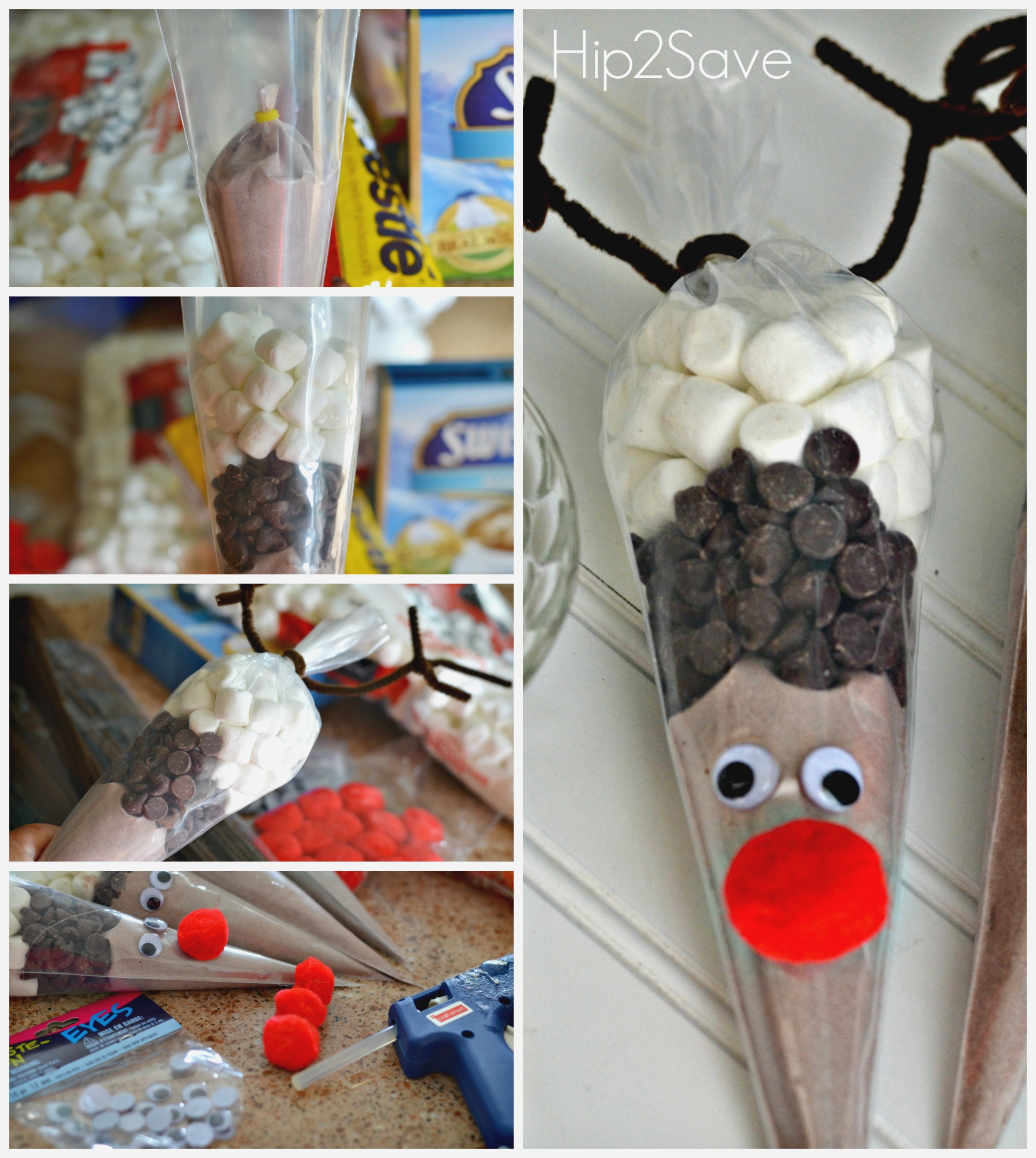 hot chocolate cones instructions