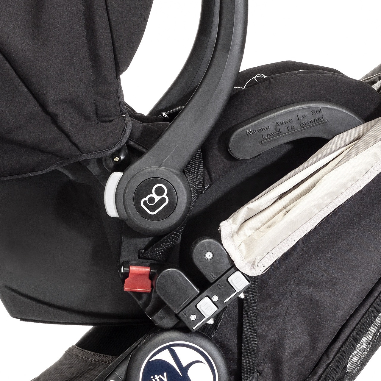 city select car seat adapter instructions