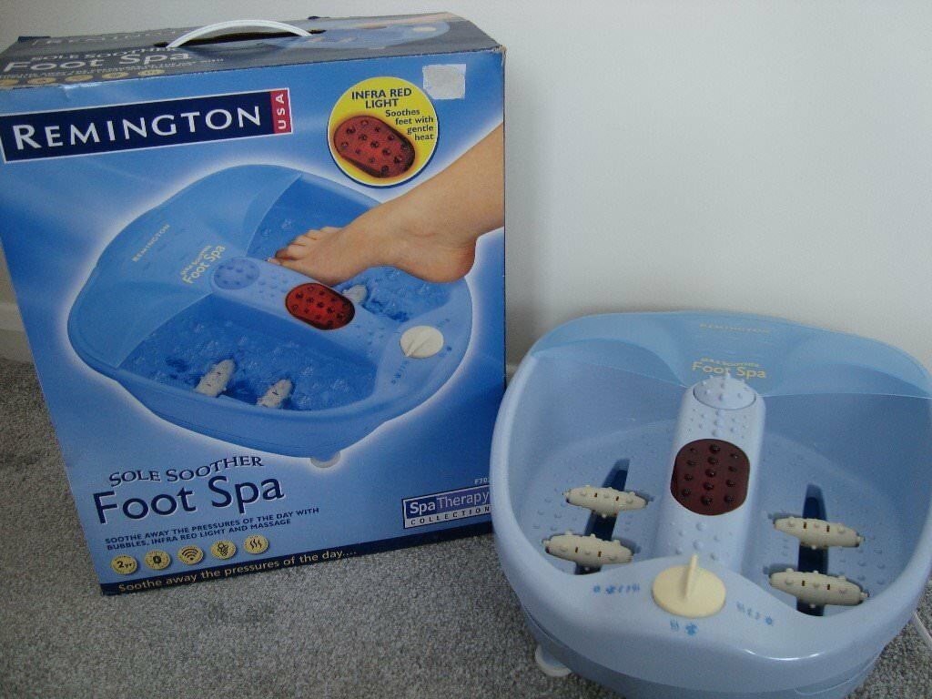 remington sole soother foot spa instructions